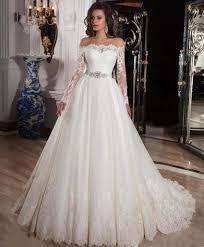 wedding dress princess wedding dresses with lace sleeves fairy