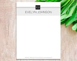 Letterhead Design In Word Letterhead Template For Word Personalized Business Letterhead Custom Diy Stationary Template Design Letterhead Paper Print Download