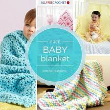 Crochet Baby Blanket Patterns For Beginners Stunning 48 Cuddly Crochet Baby Blanket Patterns AllFreeCrochet