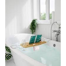 umbra aquala bathtub caddy natural