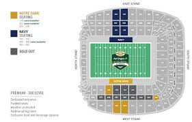 Notre Dame Stadium Detailed Seating Chart Aviva Stadium Seating Map 11 27 Aer Lingus College