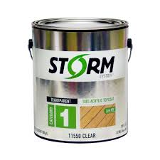 Storm System 1 Gal Clear Exterior Premium 100 Acrylic Latex Top