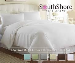 com souths fine linens piece oversized duvet cover