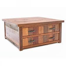 barn reclaimed barn wood coffee table