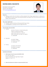 Formal Format Of Resume Free Downloadable Resume Templates Resume
