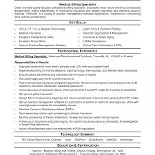 ... Medical Billing Resumes Samples Fantastic Resume Objective Entry Level  And 1224 ...