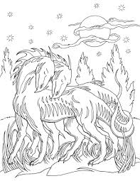 Dragon Coloring Pages For Adults Free Printable Fantasy To Print