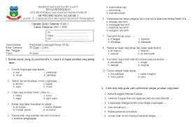 Soal ulangan tengah semester kelas 3 atau sering disebut soal uts kelas 3 merupakan salah satu alat ukur pencapaian peserta didik dalam menyerap ilmu pengetahuan dalam paroh semester pertama. Soal Plh Kelas 3 Sd Semester 1 Dan Kunci Jawaban Guru Galeri