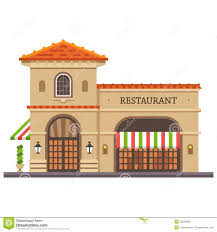 italian restaurant clipart black and white. Fine And Restaurant Building And Italian Clipart Black White T