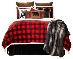 full size of red plaid comforter set queen buffalo black bedding sets lumberjack extra plush rustic