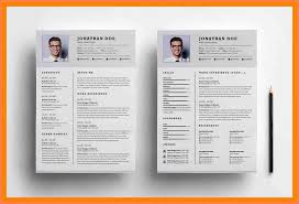 19 2 Page Resume Example Leave Latter