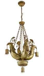 bert peche chandelier with birds 120 000