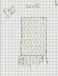 how to design a quilt on graph paper modern parti quilts vertical chevron crib quilt tutorial
