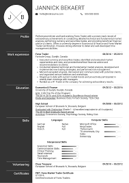 Sample Traders Resume Resume Examples By Real People Forex Trader Resume Sample