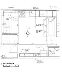 Kitchen Restaurant Floor Plan Restaurant Kitchen Size Interior