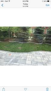 ugly haze took over my new patio stones
