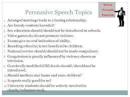 persuasive speech ppt 8 persuasive speech topics