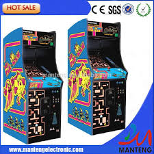 Ms Pacman Cabinet Ms Pac Man Pacman Galaga Video Arcade Game New Upright Game With