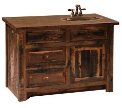 country themed reclaimed wood bathroom storage: the natural beauty of a rustic themed bathroom