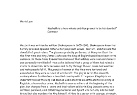 macbeth downfall essay jembatan timbang co macbeth downfall thesis macbeth downfall essay