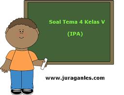 Kunci jawaban soal ulangan akhir semester 1 ipa kelas 5 sd. Soal Tematik Kelas 5 Tema 4 Kompetensi Dasar Ipa Dan Kunci Jawaban Juragan Les