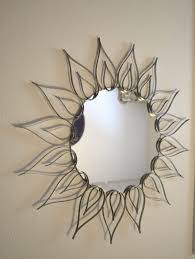 inexpensive sunflower wall mirrors decorative ideas for living room