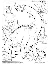 Dino Kleurplaat Thema Dinosauriërs Dinosaur Coloring Pages