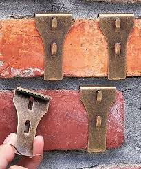 brick or vinyl siding clips hooks hang outside outdoor decorations patio signs