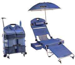 folding beach chairs. LoungePac - The Portable Beach Chair Featuring A Fridge, Umbrella And Sound System Folding Chairs
