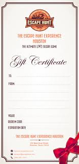 home houston s best escape room escape hunt gift certificate templates