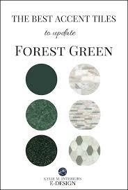 best accent tiles update forest green kitchen or bathroom kylie m e design