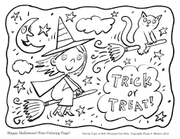 Small Picture Halloween Coloring Pages Pdf Coloring Pages