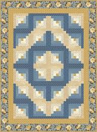 Log Cabin Quilt Patterns Gorgeous Barn Raising Log Cabin Quilt Pattern Download ConnectingThreads
