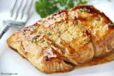 balsamic glazed halibut