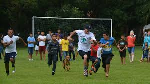 while in honduras with baseball miracles a group that spreads the joy of baseball to