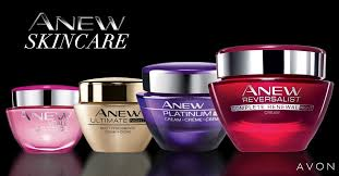 Avon Skin Care Chart Avon Anew Skincare 25 Years Of Pioneering Anti Ageing