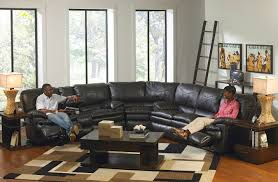Black Leather Sectional Sofa With Recliner Stunning Leather Sectional Sofa With Power Recliner 17 On Berkline