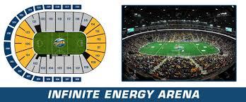 Infinite Energy Arena Georgia Swarm Pro Lacrosse Team