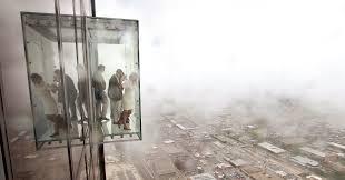 the willis tower39s 103rd floor glass skydeck ed last night gizmodo australia willis tower floors
