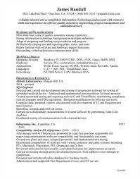 software qa resume format qa resume template