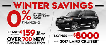 Current New Toyota Specials Offers   Wilde Toyota