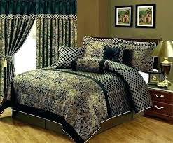 sage green comforter sets ordinary brown and green bedding emerald green comforter set dark green bedding