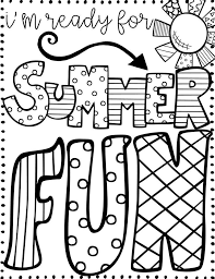 Add some color to your summer with our free summer coloring pages. Summer Coloring Pages For Kids Print Them All For Free