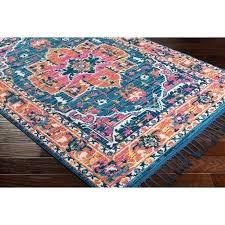 teal and orange area rug denya vintage fl teal orange area rug reviews allmodern arianna teal teal and orange area rug