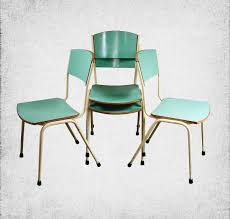 Retro Kitchen Chairs For Kitchen Fascinating 1960s Retro Kitchen Table And Chair Chrome