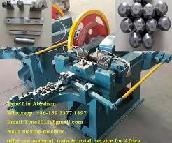nail making machine spare parts amigo