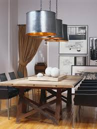 Dining Room Table Lamps Casual Dining Room Lighting Long Wooden Dining Table Elegant White