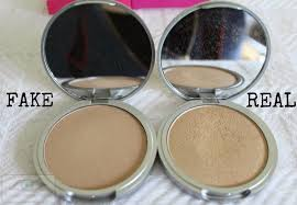 the colours are diffe the fake one looks more matte and leans towards peach whereas the real one is lighter and looks more shimmery