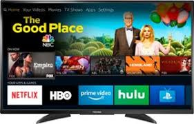 Toshiba - 50\u201d Class \u2013 LED 2160p Smart 4K UHD TV with 50 inch smart tv Best Buy