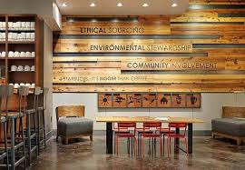 there s a plethora of examples of wall art done at a variety of starbucks i included a few examples below  on starbucks coffee wall art with how to decorate my home in starbucks style quora